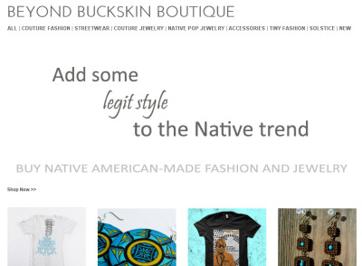 Support Native American Fashion Designers »