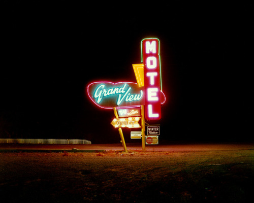 wandrlust:  Grandview Motel, Raton, New Mexico, 1981 — Steve Fitch