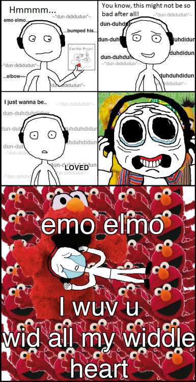 Emo Side Project - Emo Elmo