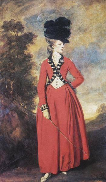 Lady Worsley by Reynolds, 1780