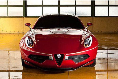 Alfa Romeo Disco Volante concept. I really want them to make this.