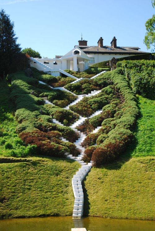 wandrlust:  The Garden of Cosmic Speculation, Dumfries, Scotland, 1989+ — Charles Jencks