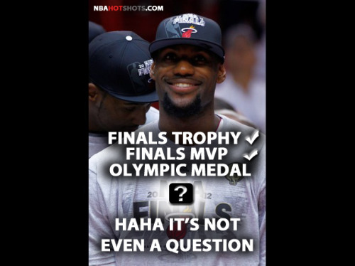 [Memes] LeBron James Has No Question He Will Win An Olympic Ring | NBAHotShots.com