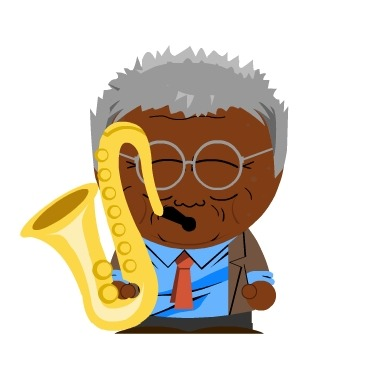 What if Sun Ran and Anthony Braxton existed in a twisted South Park universe? You'd get these fabulous illustrations, via Noise Park…