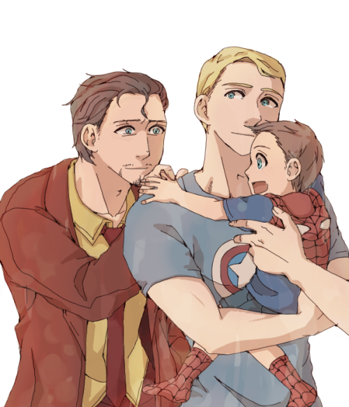 avengers tony/steve by saba   ]]>