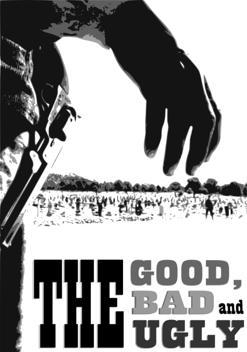 Movie poster for The Good, the Bad and the Ugly