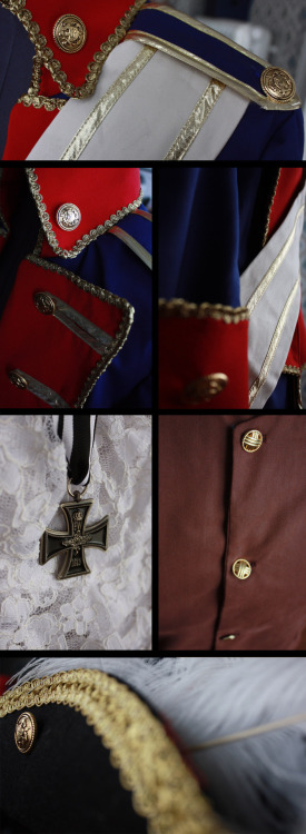 | COSPLAY PREVIEW #1: PRUSSIA FROM AXIS POWERS HETALIA …or: stuff I finished ages ago but still haven't worn yet.