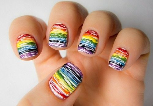 via dolliecrave  rainbow :*