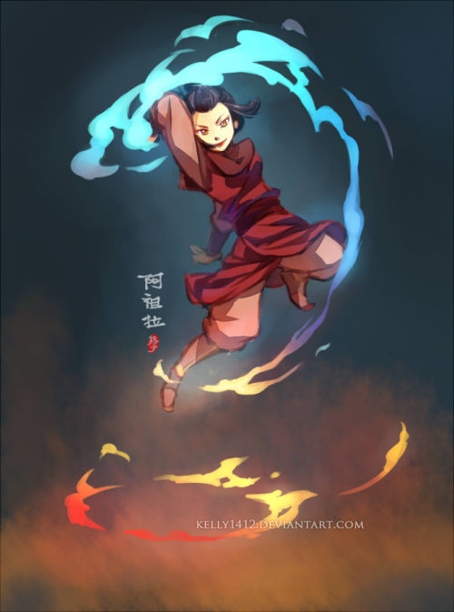 reruko:  That's my girl _ Azula by *kelly1412