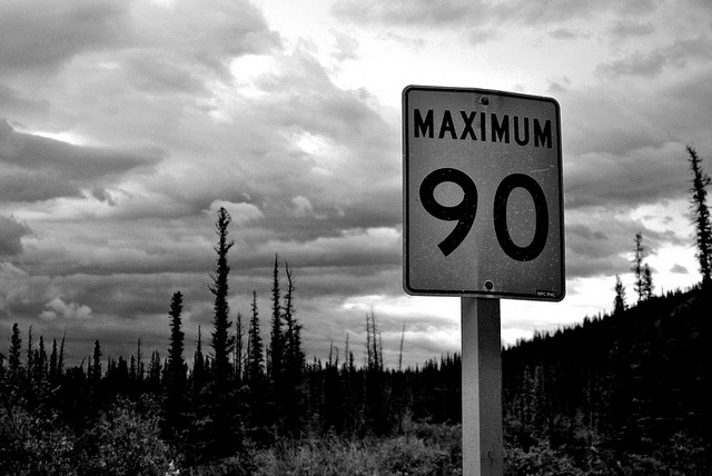 90kmdone on Flickr. Jasper, Alberta, Canada. Taken By Cole Weavers