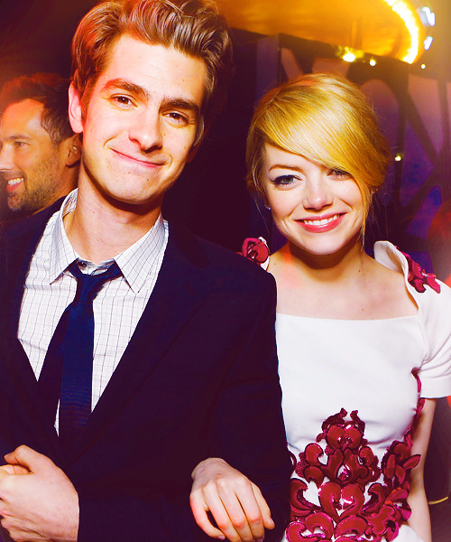 "Andrew Garfield and Emma Stone | ""The Amazing Spider-Man"" LA Première (2012)"