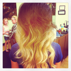 Ombré I done today!!! Love it!!!