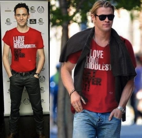 Chris & Tom ♥Was to be expected hehe