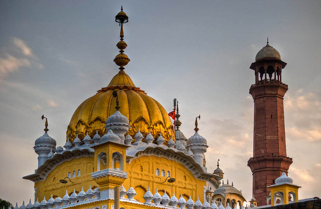The Gurdwara of Arjan Dev Lahore