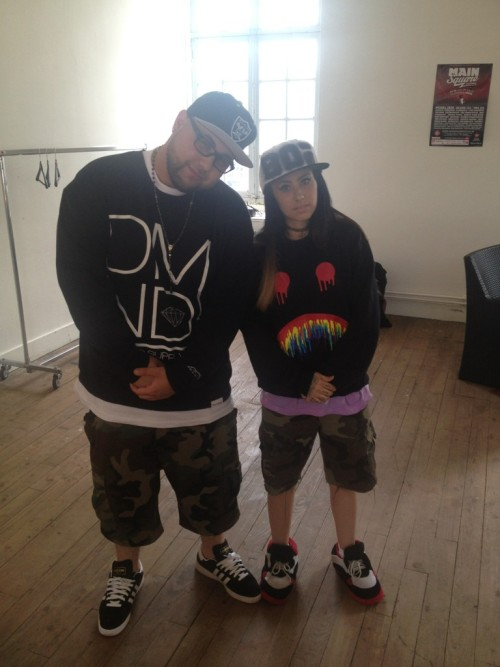 kreayshawn-news:  Kreay and Dj Fatboy