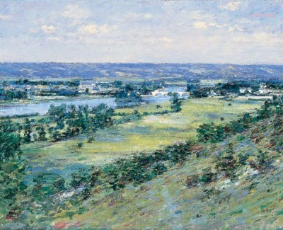 The Valley of the Seine, from the Hills of Giverny1892Theodore Robinson On display at the Corcoran Gallery in Washington DC.