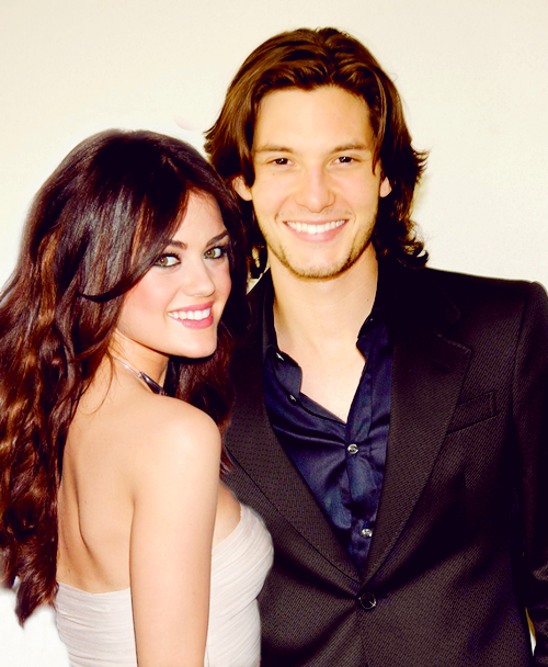 Skyler Holloway and Julian Collins of Mesi Lysi. Lucy Hale and Ben Barnes.