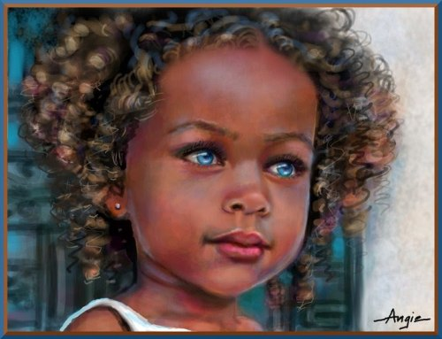 Africa In Our Own Words: BLACKS WITH BLUE EYES: NATURAL ...