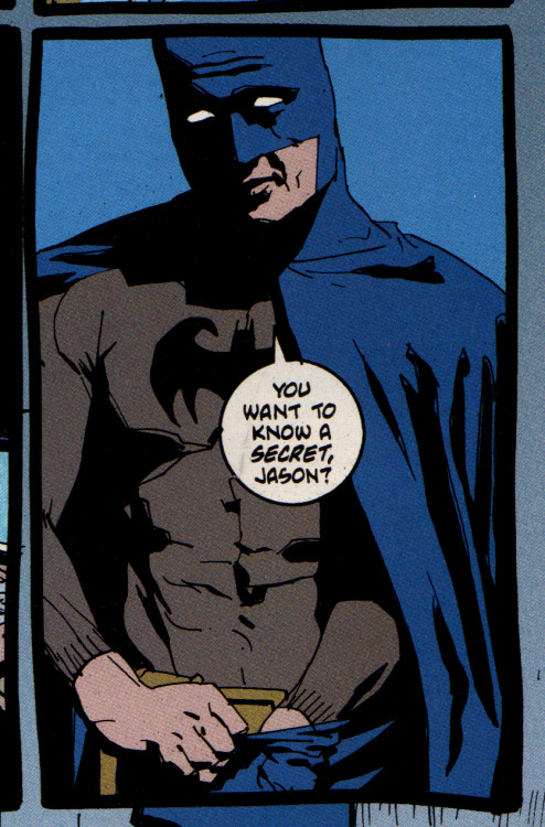 megatrip:  Batman, Legends of the Dark Knight 98 (Paul Jenkins, Sean Phillips)  —- Come to think of it… Uh… No, I'm okay. I'm good.