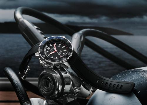 #Iwc #Aquatimer With Rubber Band Ready For A Little #Scuba - #Dive