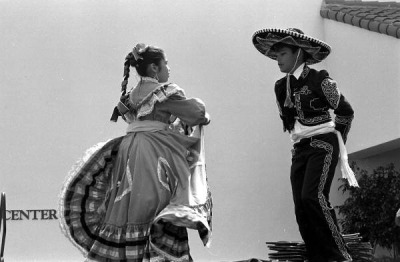 Mexican hat dance at the Historical Museum of Southern Florida during the Traditions Festival: Miami, Florida by State Library and Archives of Florida on Flickr.