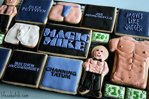 Magic Mike Cookies. by navygreen on Flickr.