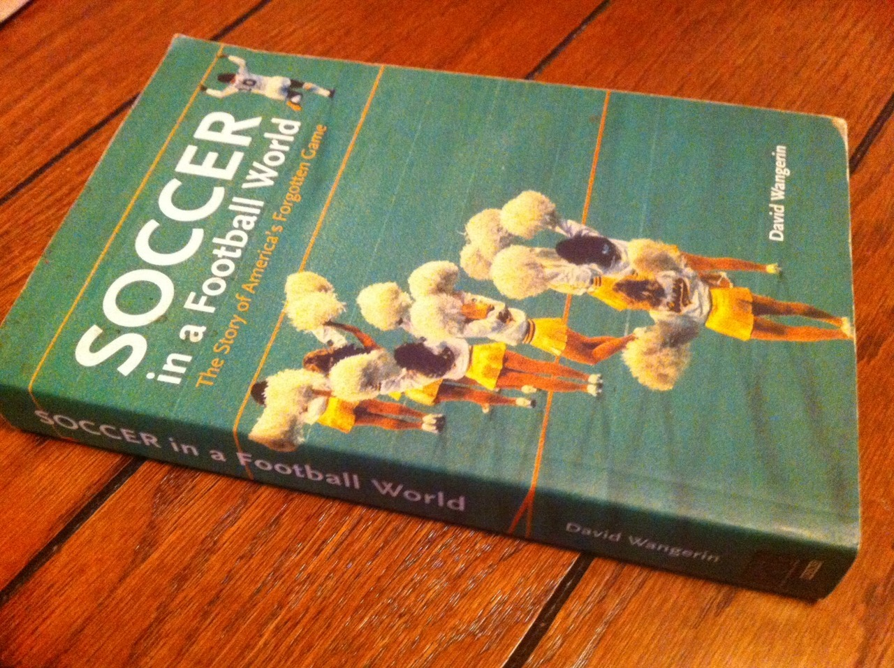 "pitchinvasion:  The author of an outstanding history of American soccer, ""Soccer In a Football World"", passed away last night. David Wangerin, you will be missed sorely, thank you for your immense contribution to American soccer. RIP."