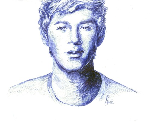So, i've drawn Niall…again Sorry, Niall!