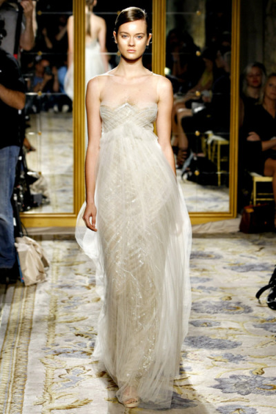 What Would Khaleesi Wear?Marchesa Spring 2012 Ready to Wear