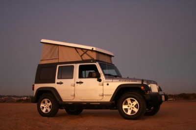 The Jeep Wrangler blows its lid with Ursa Minor pop-top camper - Images