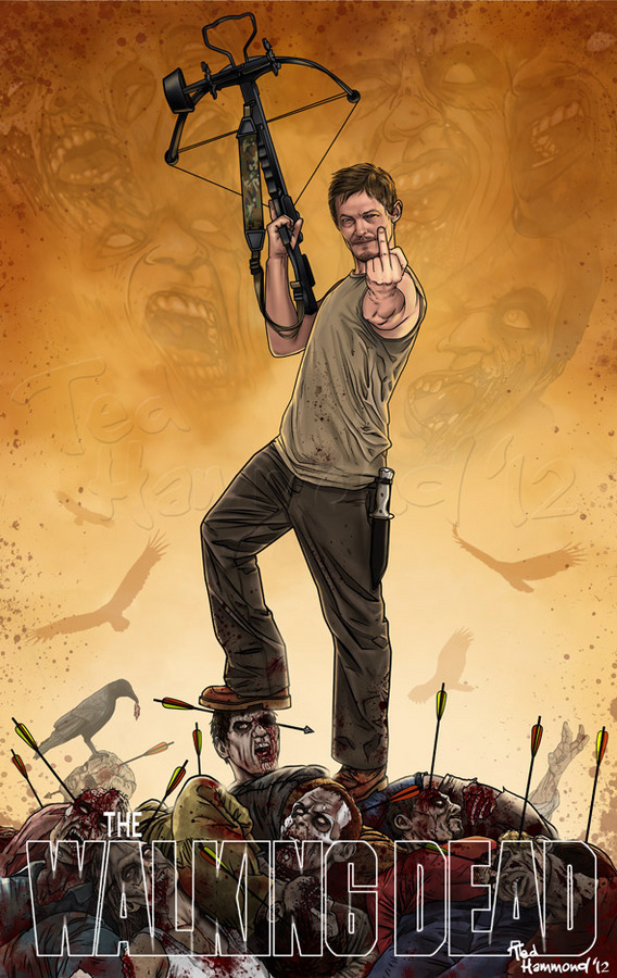assorted-goodness:  Daryl Dixon - by Ted  Hammond Website || Facebook