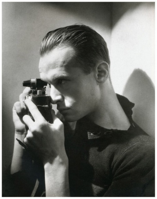 Photographer Henri Cartier-Bresson, 1933 Photographed by George Hoyningen-Huene