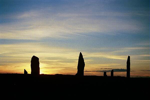 Brodgar Sunset  2001 by orquil on Flickr.