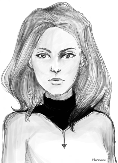 Ah, another philnoto-inspired art. I'm bad at doing hair/hairstrands.