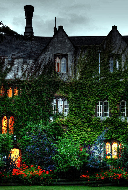 beautifuloxford:  Baliol College at dusk, Oxford by pcgn7 on Flickr (CC license)