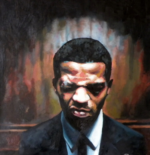 thomassaliot:  Supa brotha just finished Oil on canas