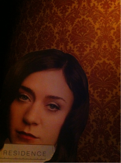 This wallpaper is divine. -Chloe Sevigny