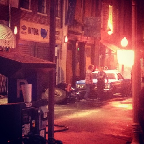 Hey Alan Rickman. #savannah #cbgb #film #nyc #rock (Taken with Instagram)