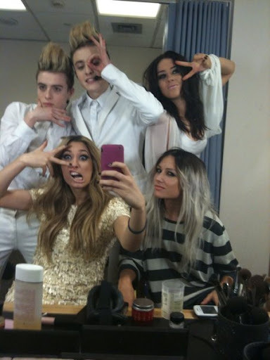 Lou and her friends. :) Apologies if  haven't posted any photos or facts about lou xxx