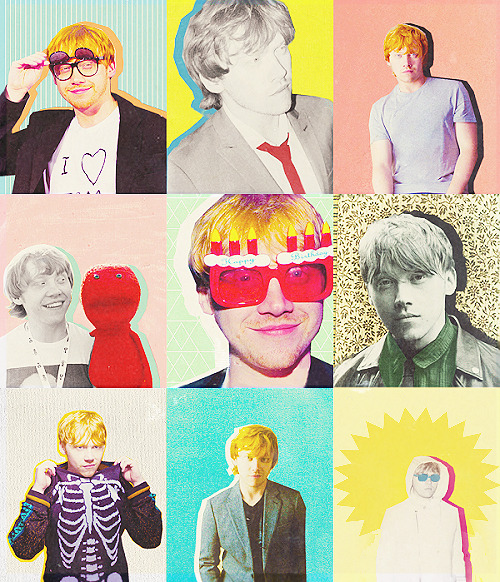 "beautiful-unfolding:  ★ favourite people | rupert grint  ""Being famous is wicked. But it's better to be normal."""