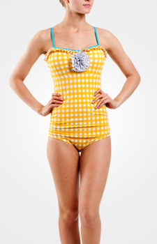 (via Womens One Piece Swimsuits | Womens Modest Swimwear | Lime Ricki)