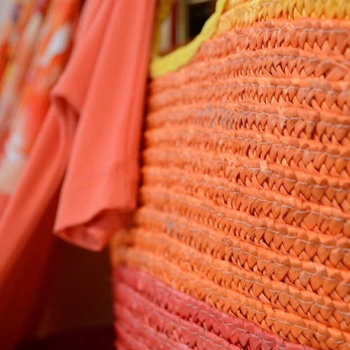 #orange bag #dressshop (Taken with Instagram at Mizard Boutique)