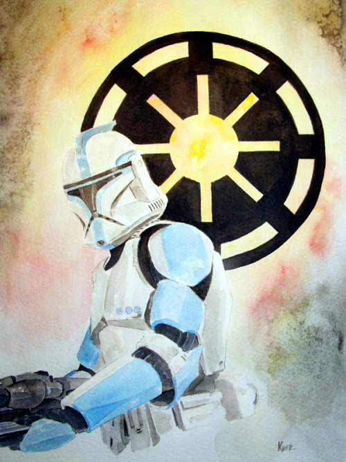 jedikittie:  Star Wars Clonetrooper by *MikeKretz