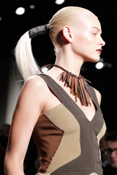 What Would Khaleesi Wear?Donna Karan Spring/Summer 2012