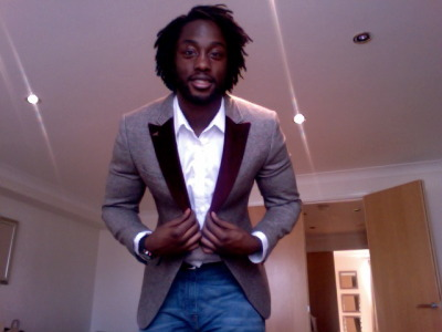 theotherbrownguy:  My new Ted Baker blazer - Addicted