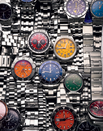 The GQ Guide to Watches Strap up.