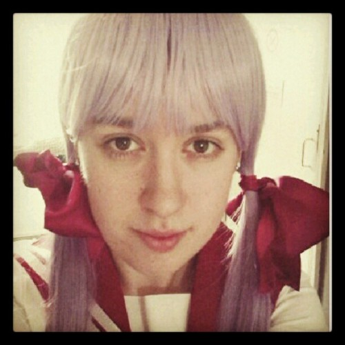My #luckystar #cosplay for #LAC #Londonanimecon (Taken with Instagram at The Arsenal Tavern)