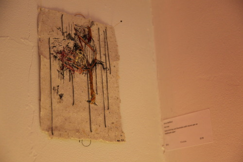 my piece 'the tree' in the small stories show curated by Joetta Maue at the Urban Alchemist Design Collective in Brooklyn, New York. (photograph taken by my friend Atiba)
