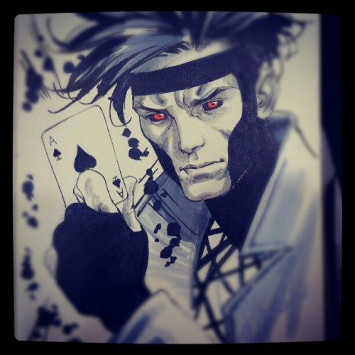 Gambit again (Taken with Instagram)