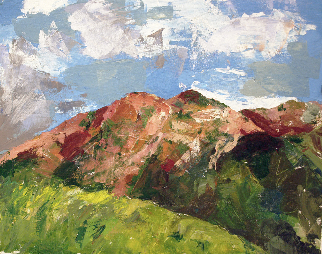 Colorado Red.Acrylic, 2012.